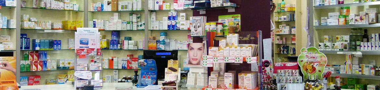 Farmacia Comunale 1 dettaglio bancone - Orbassano - Via San Rocco