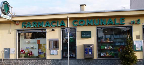 Farmacia comunale 2 - orbassano - via montegrappa 3/2