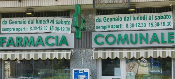 Farmacia comunale Rivalta - via piossasco 54