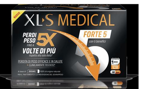 XLS MEDICAL FORTE 5 180COMPRESSE TRATTAMENTO MENSILE