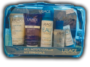 Uriage kit idratazione Crema Lavante 50ml + Shampoo 50ml + Acqua Termale 50ml + Crema 15ml