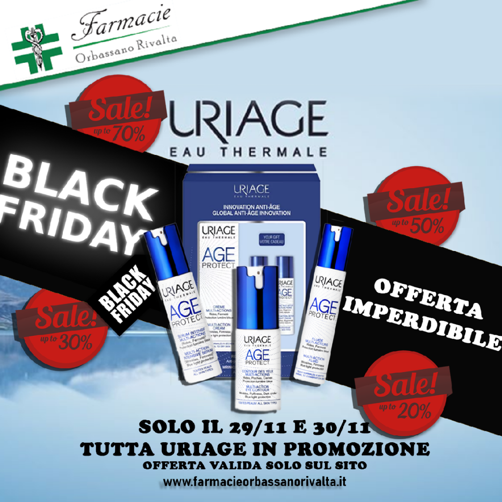 Blck Friday Uriage in sconto