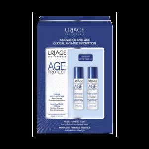 Uriage age protect kit crema + siero +crema notte