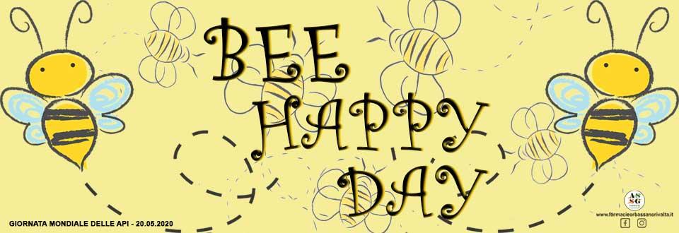 bee happy day - giornata mondiale delle api